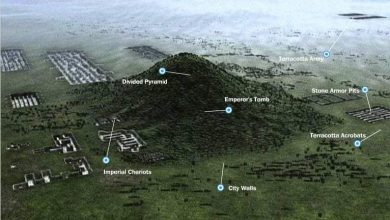 Photo of Massive 'Chinese Pyramids' Were Built in Alignment with the North Star