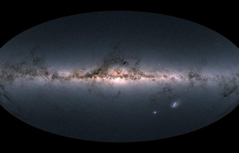 Gaia's sky in colour