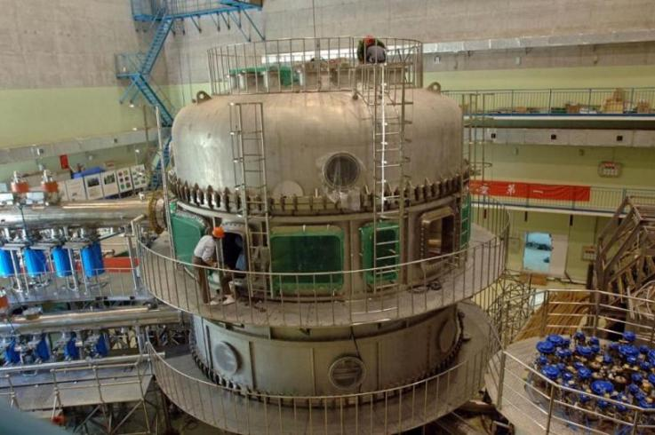 China's Experimental Advanced Superconducting Tokamak, or 'artificial Sun' as it is better known. HIPS/EAST TEAM