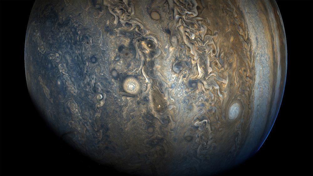 Jupiter's Stunning Southern Hemisphere. Image Credit: NASA / Juno.