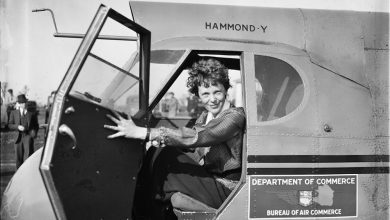 In a Stearman-Hammond Y-1. Image Credit: Wikimedia Commons.