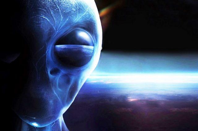An artists rendering of an alien being. Shutterstock.