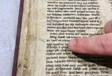 Photo of Recently Found Ancient Manuscript Shed's Light on the Legend of King Arthur and Merlin