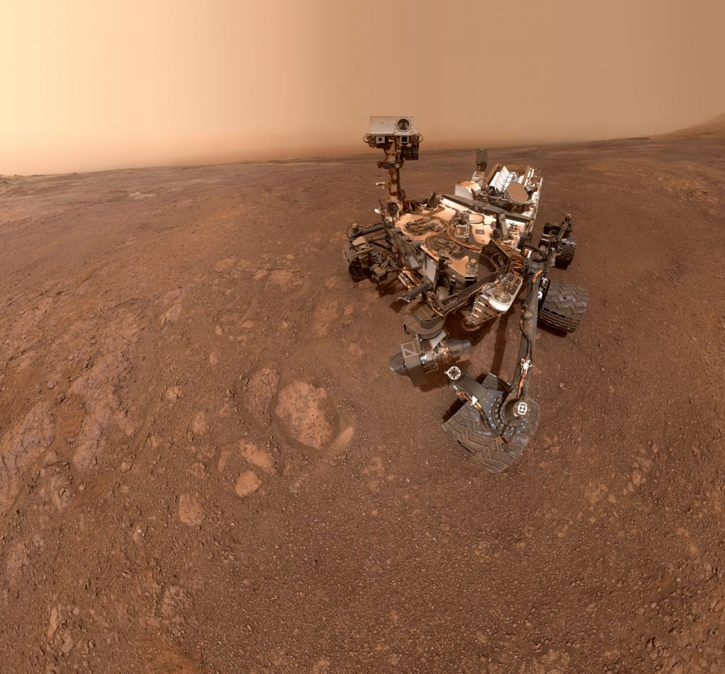 Another selfie on Mars. Image Credit: NASA/JPL-Caltech/MSSS.