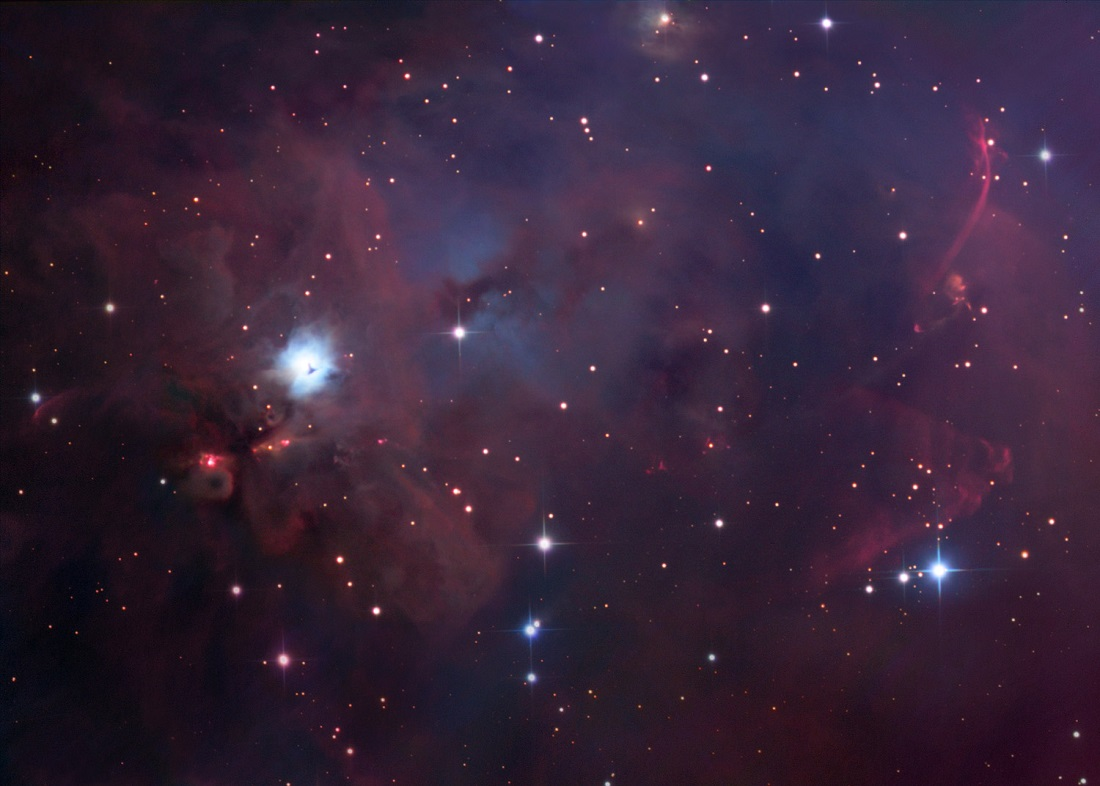 NGC 1999: South of Orion Credit & Copyright: Robert Gendler