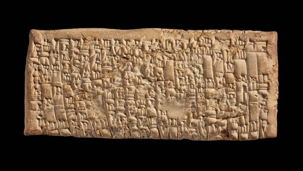The complaint letter was written in cuneiform script and is believed to date back to around 1750 BC. Image Credit: British Museum.