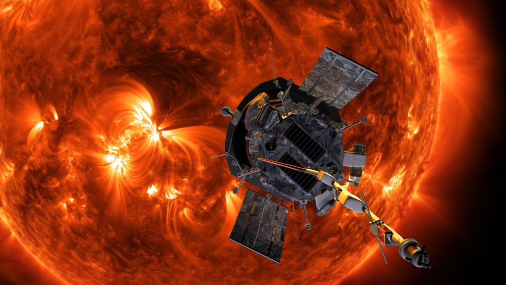 The spacecraft's four instrument suites will help scientists begin to answer outstanding questions about the Sun's fundamental physics. Image Credit: NASA.