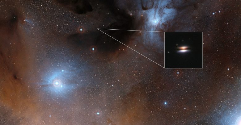 Photo of Organic Materials Found in Star-Forming Region 450 Light-Years Away