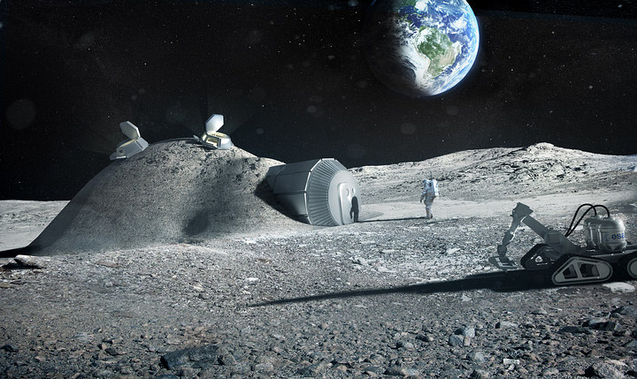 The European Space Agency wants to build a lunar colony by 2025.