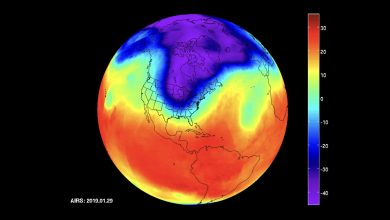 Photo of This is What the Polar Vortex Looks Like from Space