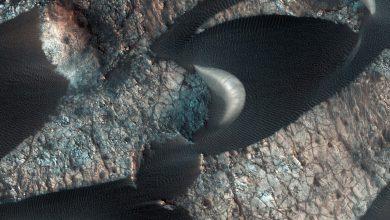 Photo of NASA Spacecraft Spots Strange Surface Details on Mars