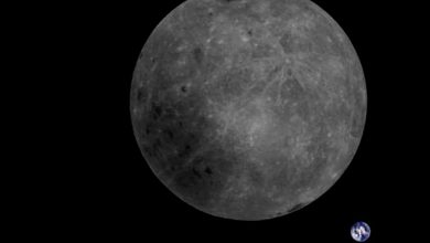 Photo of Chinese Satellite Snaps Breathtaking Footage of Earth-Moon System
