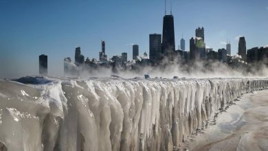 Photo of Polar Vortex Above US Is Almost Like a Movie Scene From 'The Day After Tomorrow'