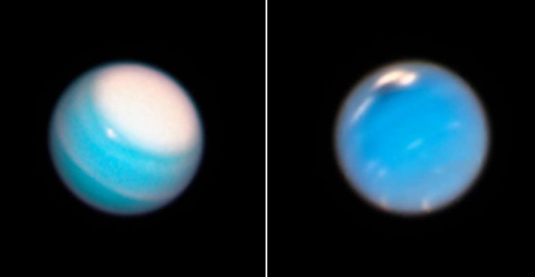 Photo of The Hubble Space Telescope Reveals Raging Storms on Neptune and Uranus