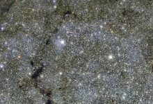 All of the tiny dots you see in this image are stars. Image Credit: ESO.
