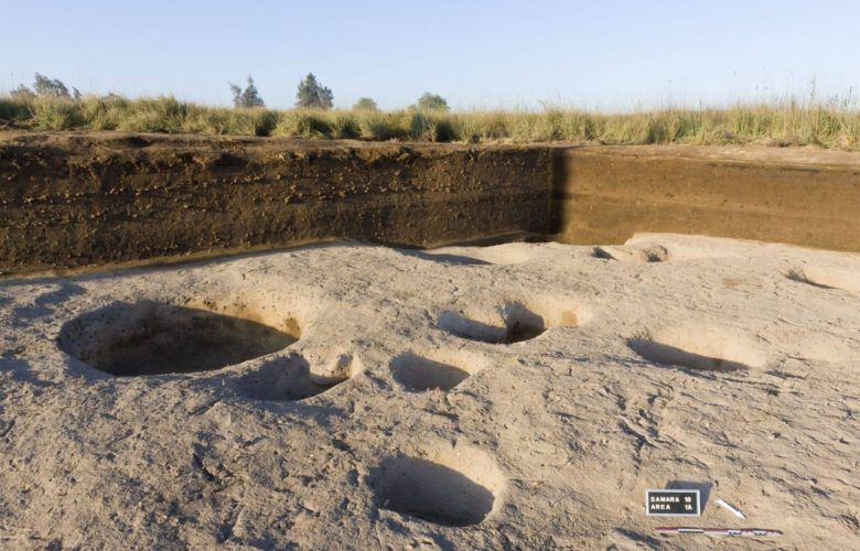 The remains of the ancient settlement. Image Credit: The Egyptian Ministry of Antiquities.