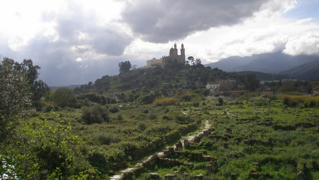 Ancient city of Hippo Regius, today Annaba. Image Credit: Wikimedia Commons.