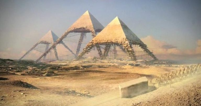 Is This How the Great Pyramid of Giza Was Really Built
