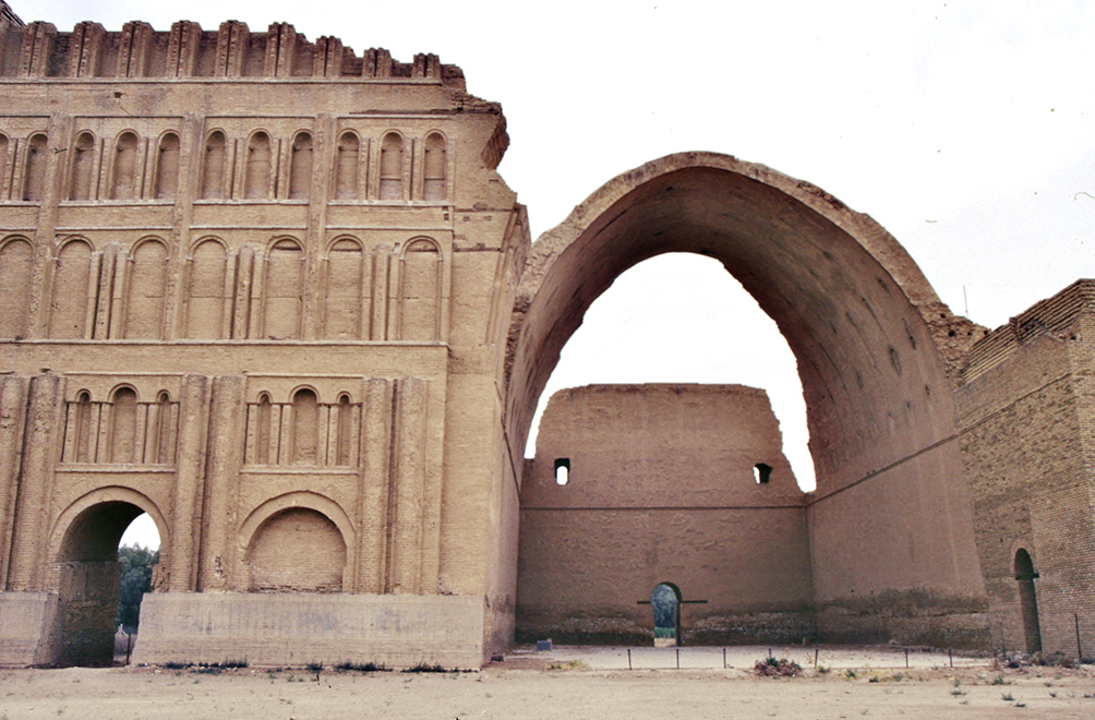 Archway of Ctesiphon. Image Credit: Wikimedia Commons.