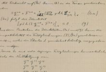 Photo of Treasure Trove of Einstein's Handwritten Notes Featuring Scientific Ideas Thought Lost Revealed by Scholars
