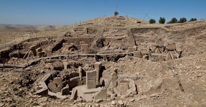The ruins of Gobekli Tepe. Image Credit: Wikimedia Commons.