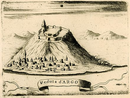Illustration of Argos by Vincenzo Coronelli, 1688. Image Credit: Wikimedia Commons.