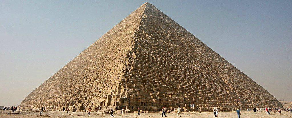 The Great Pyramid of Giza: Image Credit: Nina Aldin Thune/Wikimedia.