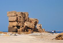 Photo of The Ancient Megalithic Wall of Arwad—Remnants of Cyclopean Structures