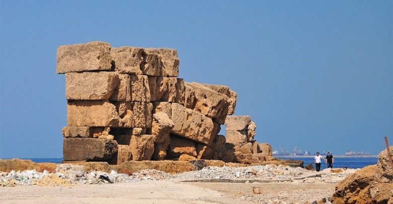 Photo of The Ancient Megalithic Wall of Arwad—Remnants ofCyclopean Structures