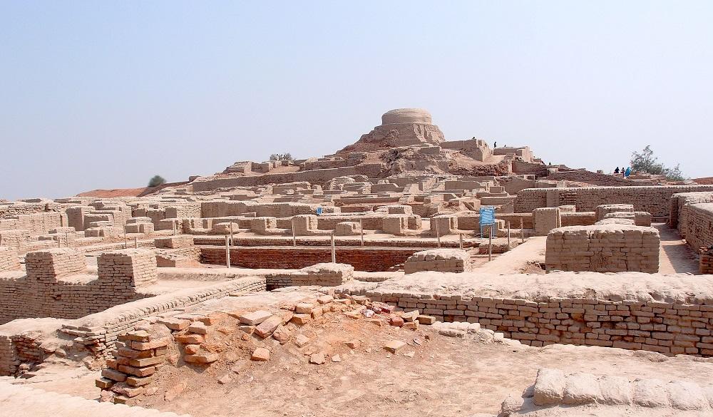 Mohenjo-daro. Image Credit Wikimedia Commons.