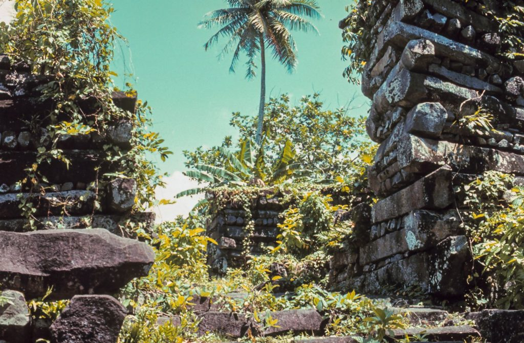 The Ancient Ruins of Nan Madol. Image Credit: Wikimedia Commons.