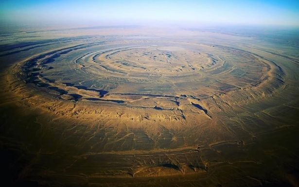 The Richat Structure. Image Credit: Bright Insight / YouTube.