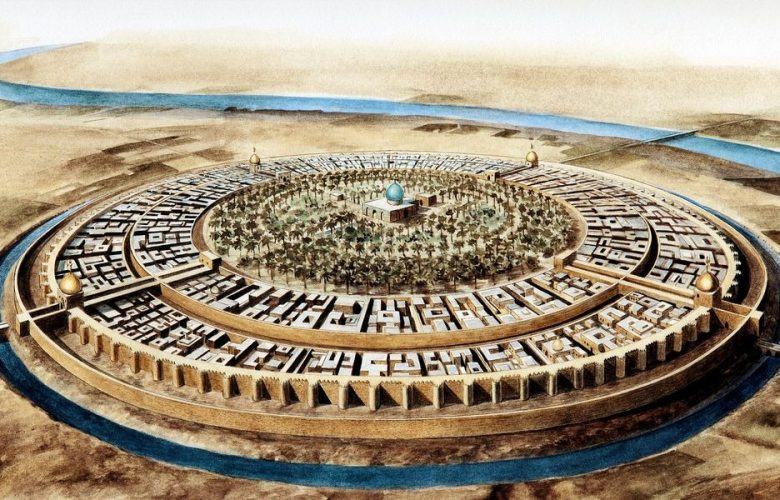 An illustration of the Round City of Baghdad in the 10th century. Image Credit: Jean Soutif/Science Photo Library.