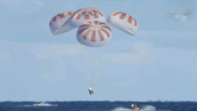 Photo of Splashdown! SpaceX's Crew Dragon Capsule Successfully Completes Historic Mission