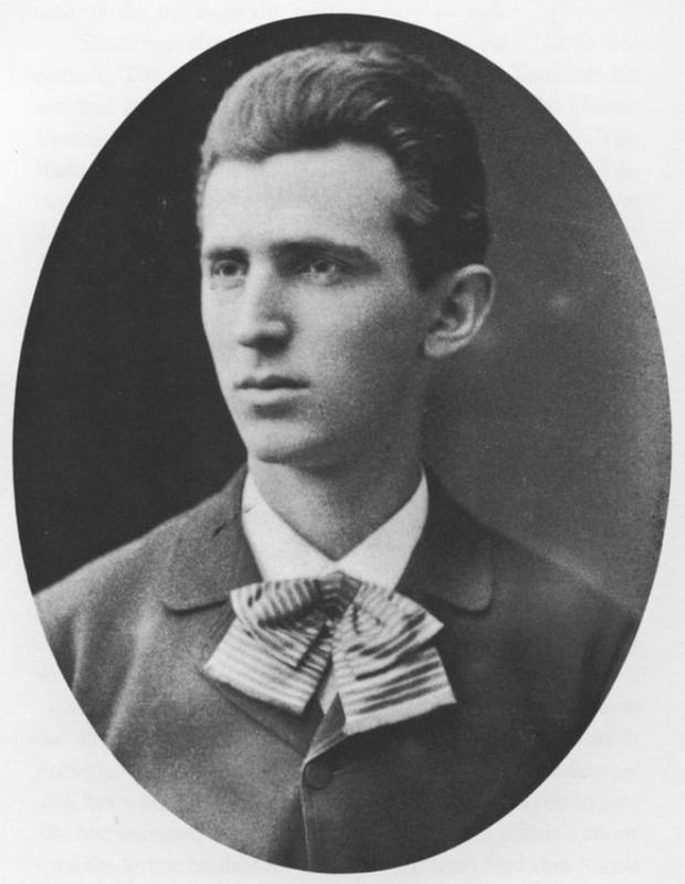 A Photograph of Nikola Tesla when he was 23.