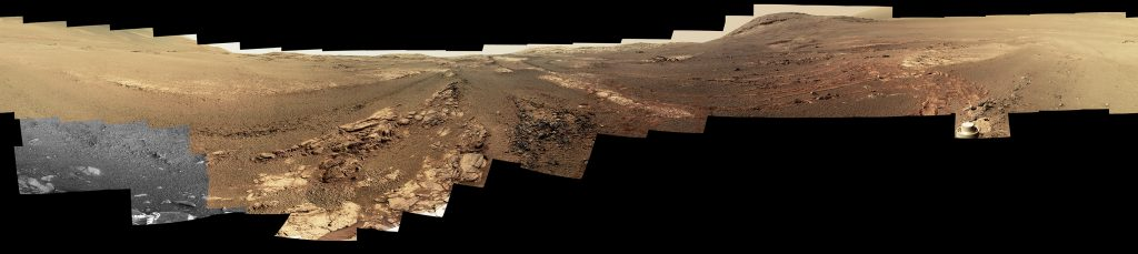 Opportunity Legacy Pan (True Color). Image Credit: NASA.