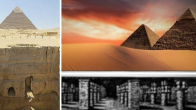 Photo of A 'Lost Ancient Underground City' Beneath the Pyramids of Giza?