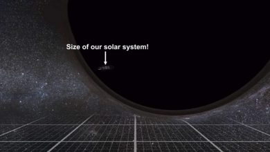 Photo of This Fascinating Video Shows the Incredible Scale of Black Holes