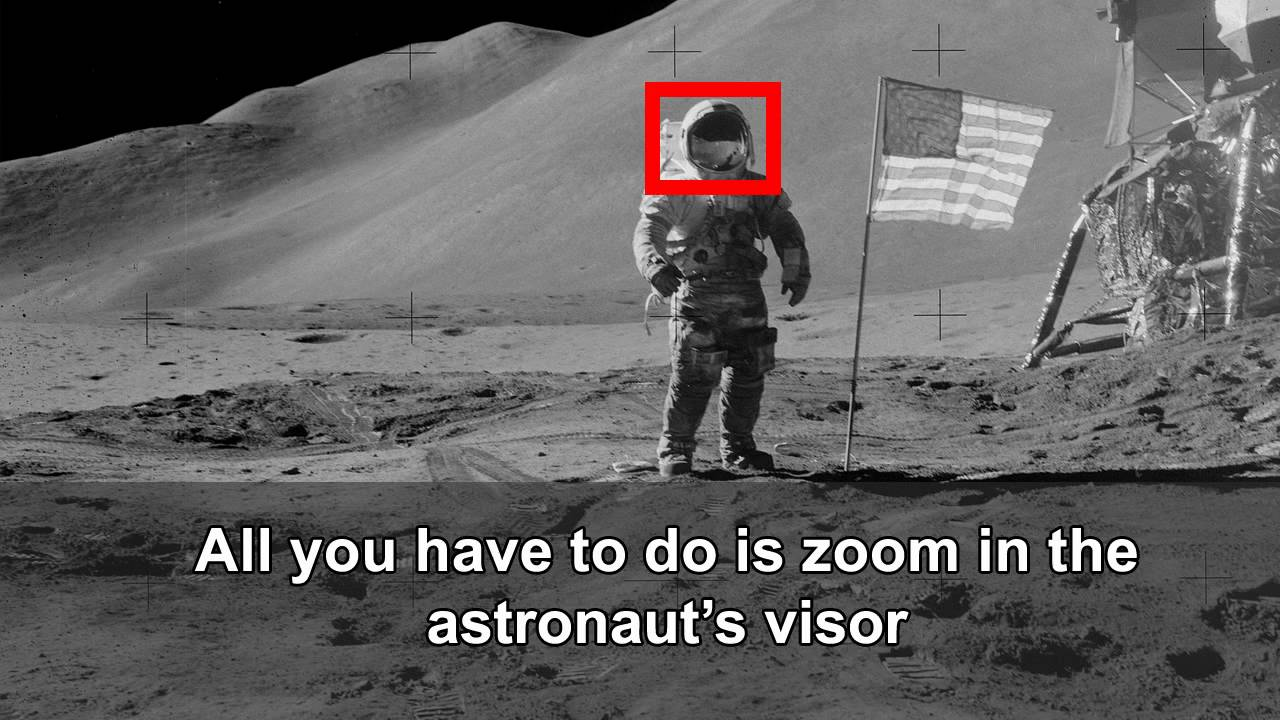 NASA 'Should've Looked Twice Before Posting These Apollo Moon