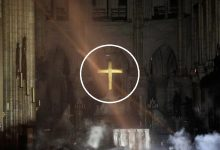 Photo of Woman Claims God Spared the Cross In Notre Dame Fire; Then Science Responds