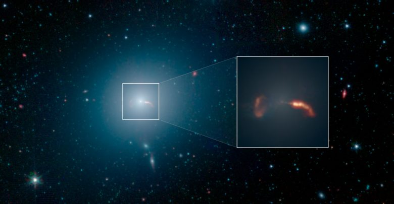 Photo of Strange Objects Orbit the Supermassive Black Hole at the Center of the Milky Way