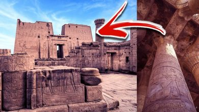 Photo of Here Are 8 Extremely Rare Images of the Ancient Temple of Horus at Edfu