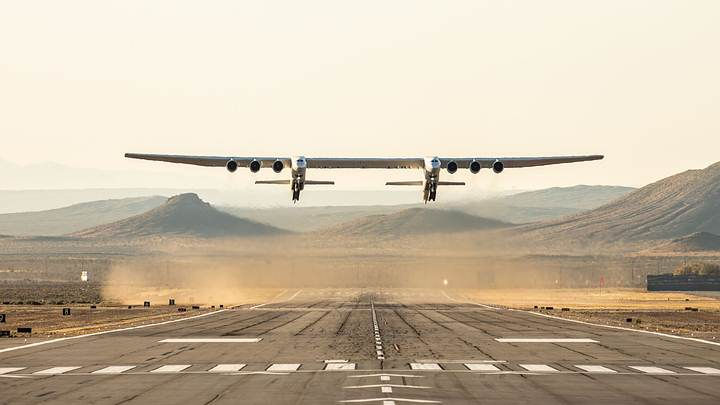 Image Credit: Stratolaunch.