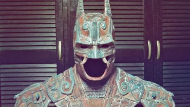 Photo of The Ancient Maya 'Bat-Man god' Recreated Commemorating Batman's Anniversary