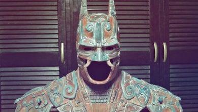 Photo of The Ancient Maya 'Bat-Man god' Recreated Commemorating Batman's Anniversary