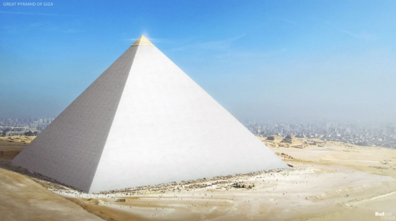 The Great Pyramid of Giza. Image Credit: Budget Direct.