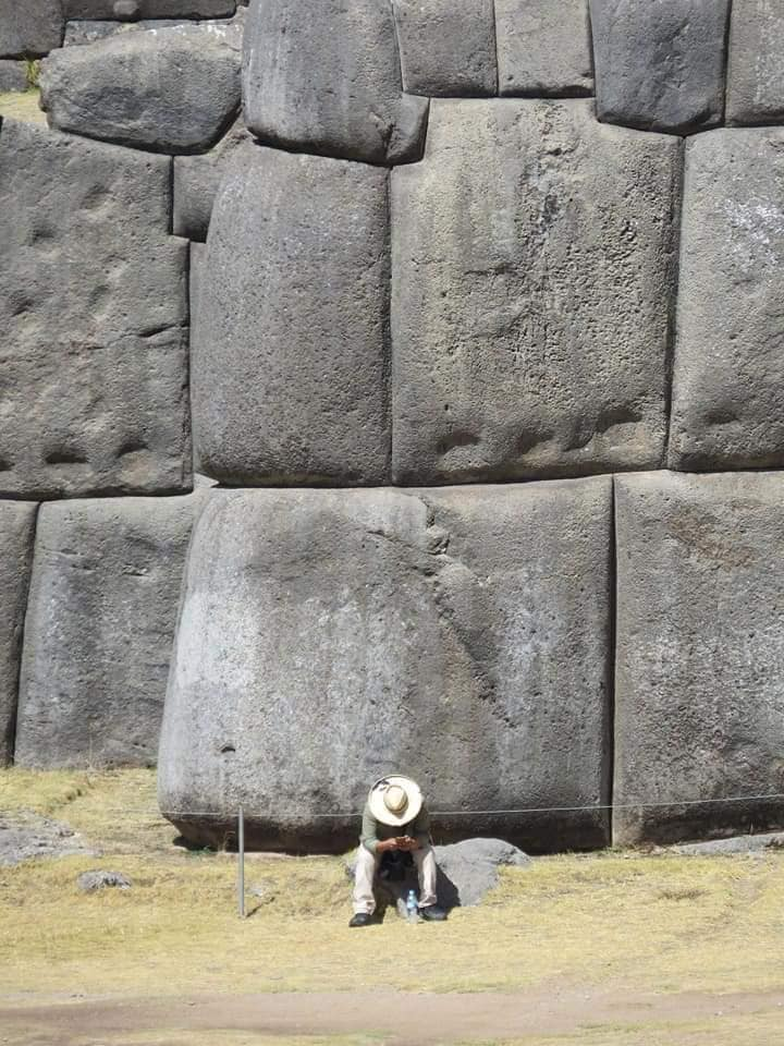 Massive Stones at Sacsayhuaman.