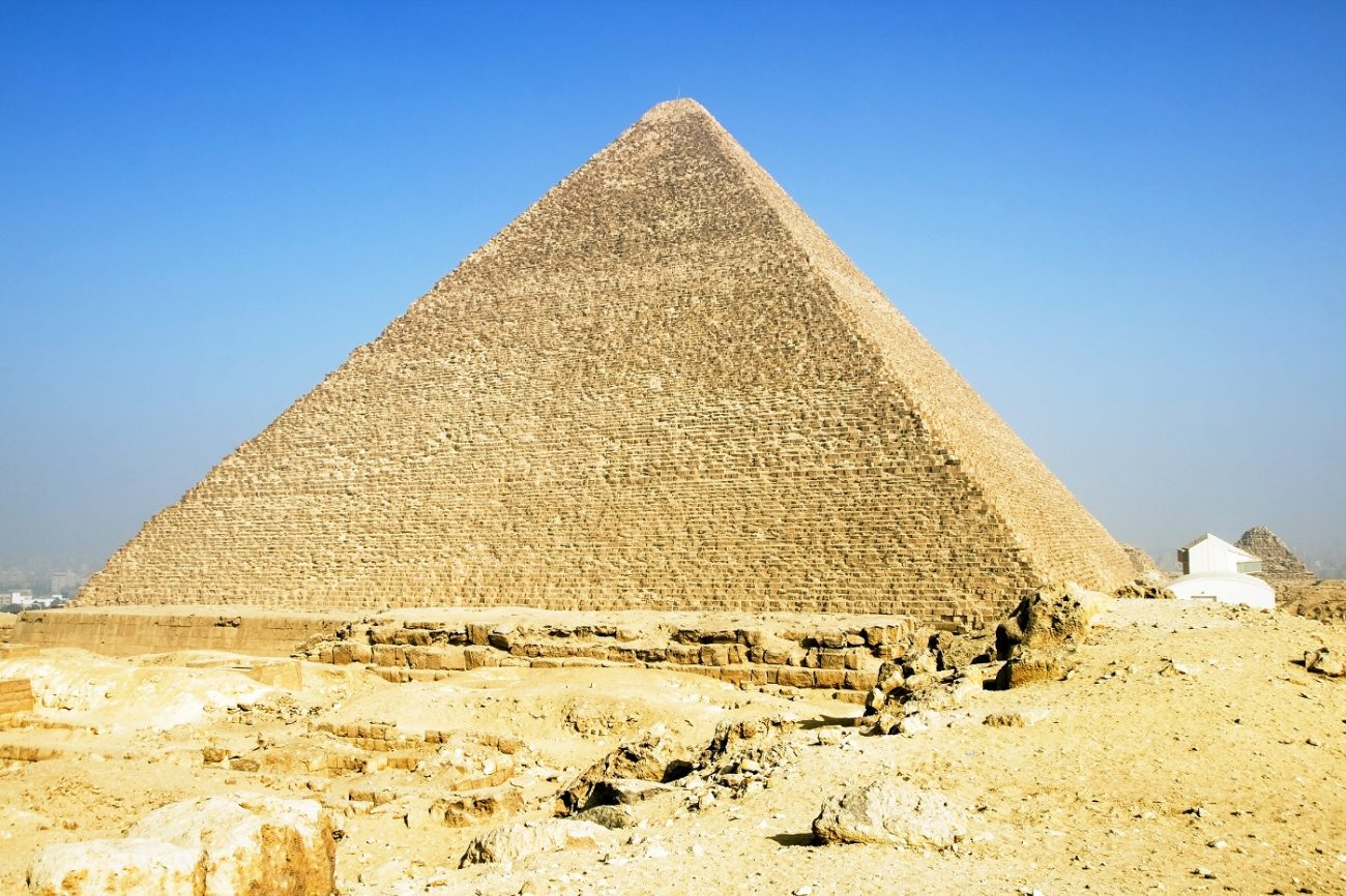 The Great Pyramid of Giza. Shutterstock.