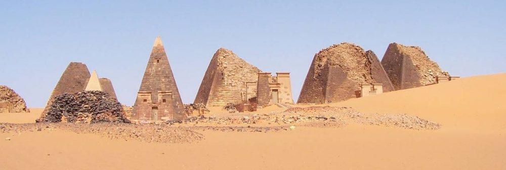The Pyramids of Sudan. Image Credit: Wikimedia Commons.