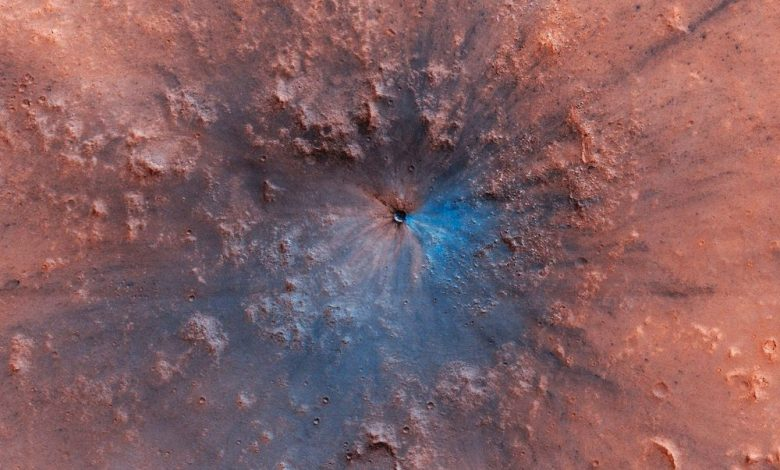 A work of art on the surface of Mars. Image Credit: NASA/JPL/University of Arizona.